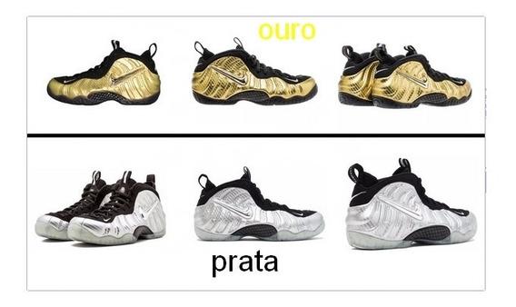 Tênis Nike Foamposite Pro Leia A Descriçao