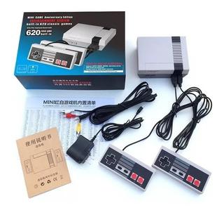 Nintendo Clasico Nes + 2 Controles+ 620 Juegos Somos Tienda