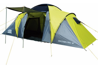 Carpa 4 Personas Waterdog Discovery Pro C/ Piso Dormitorio