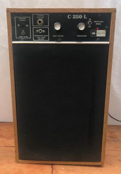 Caixa Acústica E Amplificador Ciclotron C250l Ler Anuncio(tm