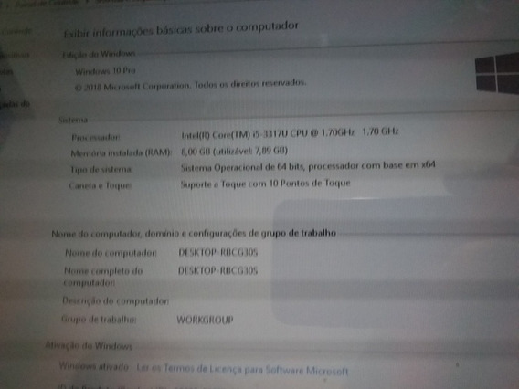 Notebook Asus S400c Touchscreen Core I5 8gb Sdd 240gb