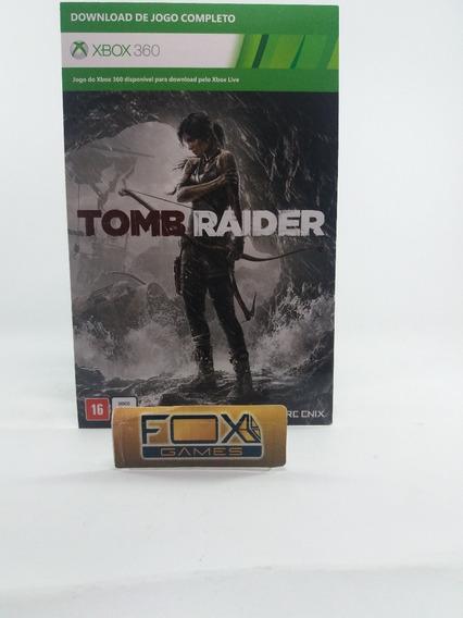 Xbox 360 Jogo Tomb Raider Mídia Digital + 14 Dias Live Gold