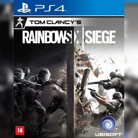 Rainbow Six Siege Ps4- Rainbow Six Ps4 - Envio Rápido!