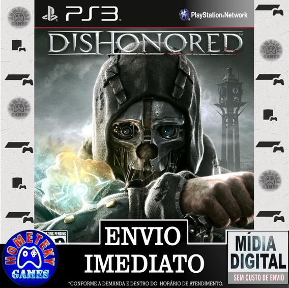 Dishonored - Psn Ps3 Play 3 Pronta Entrega