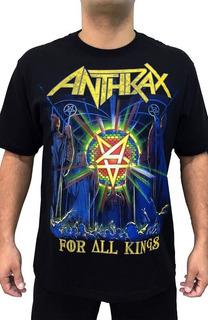 Camiseta Consulado Do Rock E1317 Anthrax Camisa Banda