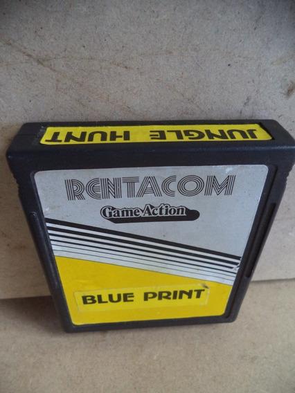 Jogo Atari 2600 Blue Print/jungle Hunt