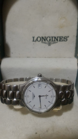 Luxo - Relógio Suíço Longines Conquest Silver