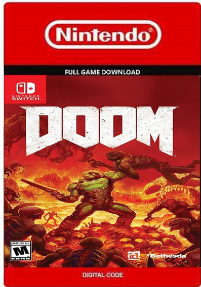 Doom Nintendo Switch Codigo Oficial