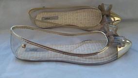 3128b4d1ed Sapatilha Colcci Dourada - Calçados
