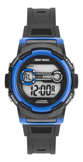 Relógio Infantil Mormaii Fun Mo0200/8a 36mm Borracha Preta