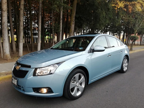 Chevrolet Cruze 1.4 F Lt Aa Cd Mp3 R-17 Piel Qc At 2012
