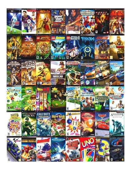 Pacote + De 3000 Patch P/jogos Psp Via Download