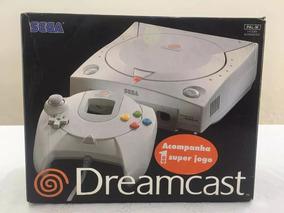 Caixa Original Vazia Do Dreamcast + Manual Original Tectoy