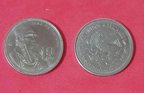 Imagen 1 de 1 de Moneda De $1.00, Año 1986 J. María Morelos, Excelente Estado