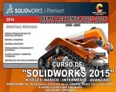 Curso De Solidworks 2018 A Domicilio
