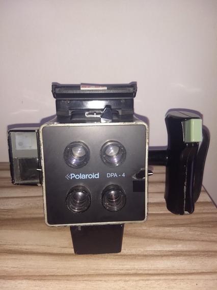Câmera Instantânea Polaroid Dpa-4 Japonesa