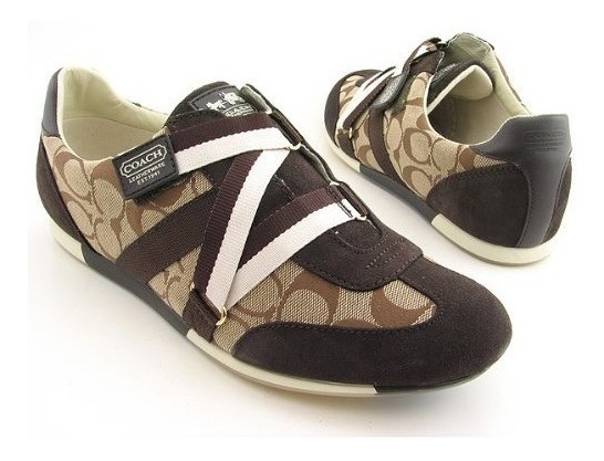 Coach Sneakers Originales Juli Nuevos En Caja 8.5 Usa