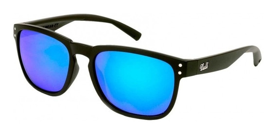 Vulk Latter Anteojos De Sol Gafas Polarizado Azul Espejado