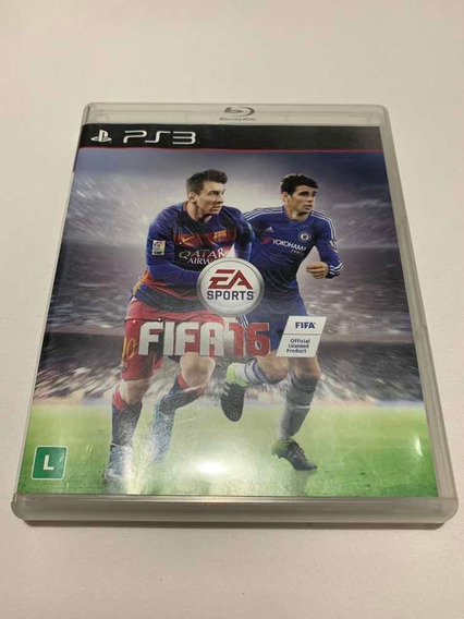Fifa 16 Playstation 3 Jogo Original Ps3 Mídia Física Futebol