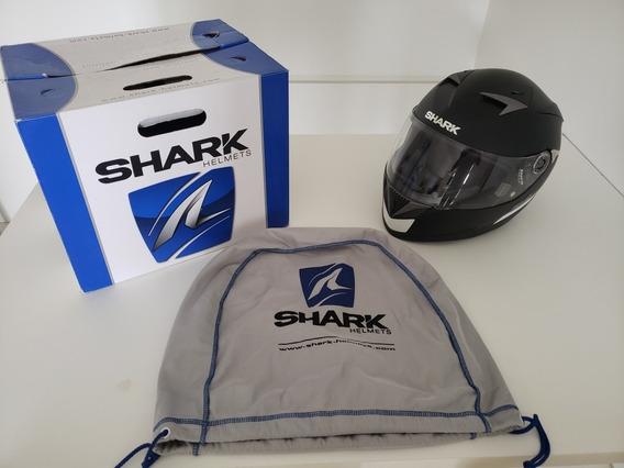 Capacete Shark S700 Preto Fosco N² 62