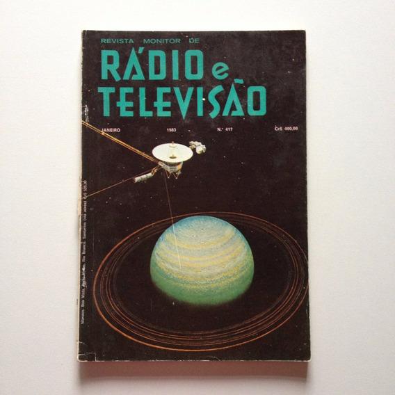 Revista Rádio E Televisão Nº417 Janeiro De 1983