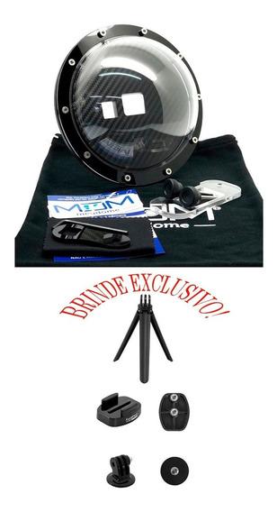 Dome 6 Pol Completo Para Gopro 5 6 7 Black Brinde Exclusivo