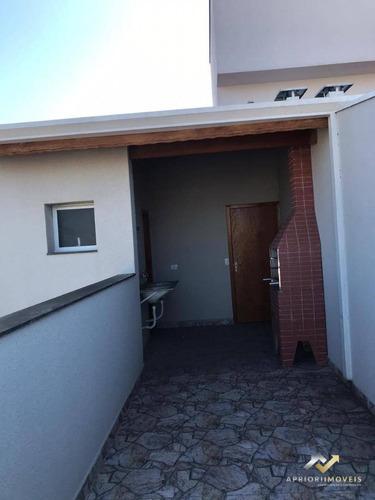Cobertura À Venda, 117 M² Por R$ 433.926,00 - Vila Camilópolis - Santo André/sp - Co0628
