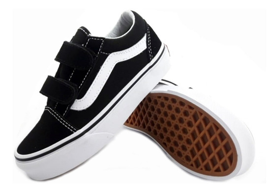 Zapatillas Vans Old Skool Urbana Niño Vhe6bt Eezap