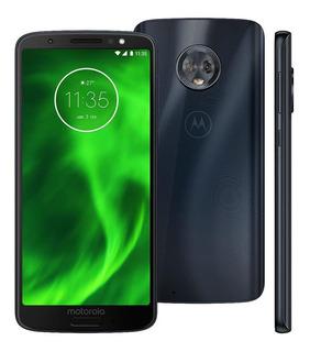 Celular Motorola Moto G6 Xt1925 32gb 3gb Ram 12mp 5.7 Índigo