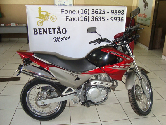 Honda Nx4 Falcon 400 Vinho 2008