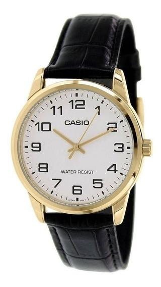 Relógio Masculino Casio Mtp-v001gl-7budf - Dourado