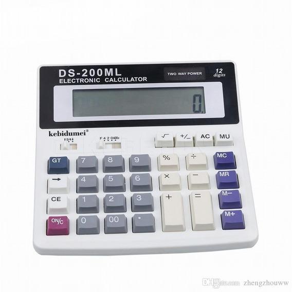 Calculadora Original Ds 200ml 12 Digitos Oficina Solar