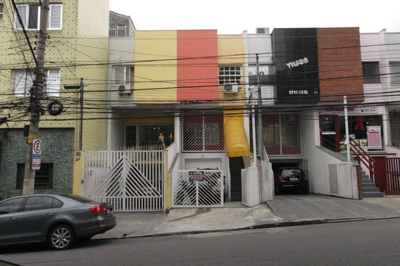 Sobrado Comercial À Venda, 198 M² Por R$ 750.000 - Tatuapé - São Paulo/sp - So10579
