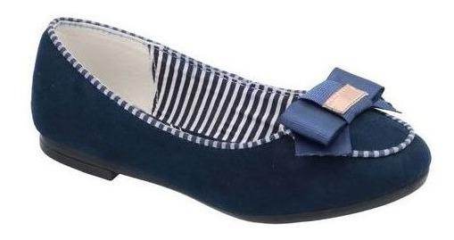 Zapato Flats Niña Azul Marino M635905