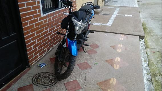 Moto Akt 125 Azul