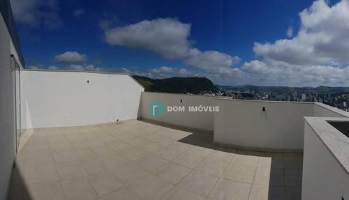 Cobertura Com 3 Dormitórios À Venda, 140 M² Por R$ 729.000,00 - Estrela Sul - Juiz De Fora/mg - Co0099