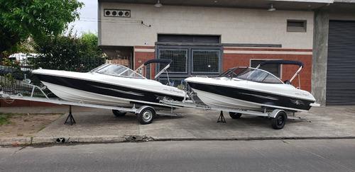 Imagen 1 de 15 de Lancha Open 3v Tango 470 Evinrude 60 Hp 10 Nautica Milione