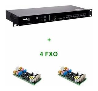 Central Pabx Ip Intelbras Voip Cip 850 Gateway 4 Portas Fxo
