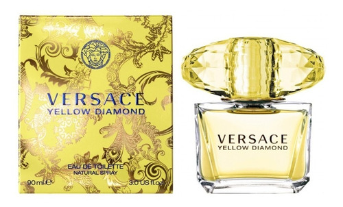 Imagen 1 de 3 de Perfume Yellow Diamond Para Mujer De Versace Edt 90ml