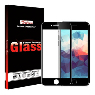 Vidrio Templado Curvo Full Glass 3d iPhone 7 6 8 Plus 4d 5d