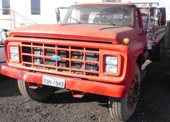 Ford F14000 Carroceria Ano 1990