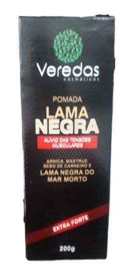Pomada Lama Negra Veredas 200 G Promoção