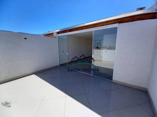 Cobertura Com 2 Dormitórios À Venda, 100 M² Por R$ 399.000,00 - Parque Novo Oratório - Santo André/sp - Co0206