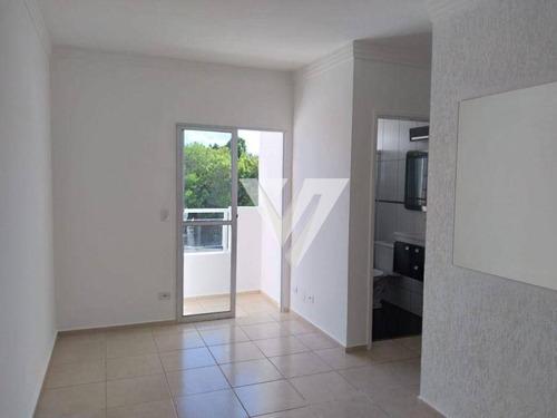 Apartamento Com 2 Dormitórios, 52 M² - Venda Por R$ 160.000,00 Ou Aluguel Por R$ 600,00/mês - Parque Reserva Fazenda Imperial - Sorocaba/sp - Ap2452