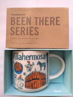 Taza City Mug Starbucks Villahermosa Been There Series Mexic