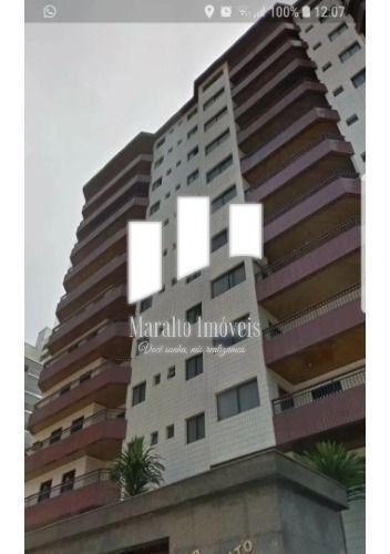 Imagem 1 de 12 de Apartamento No Canto Do Forte Praia Grande S. Paulo..
