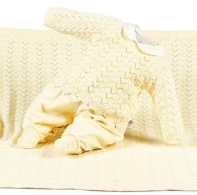 Kit De Maternidade Tricot Rebeca Amarelo 5731 Beth Bebê