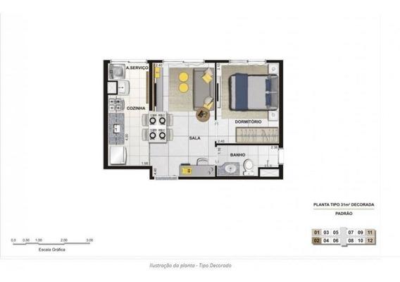 Apartamento Para Venda Em São Paulo, Água Branca, 1 Dormitório, 1 Banheiro - Sp_barraf_1-1371568