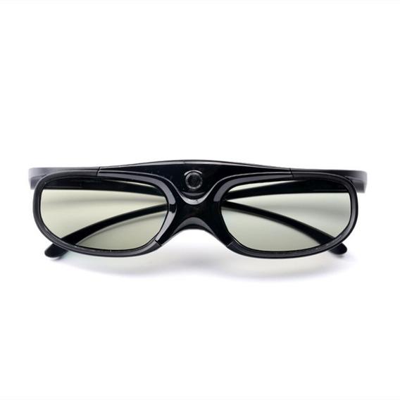 Claite Active Obturador Recarregável 3d Óculos Suporte Dlp L