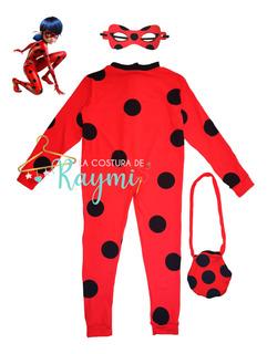 Traje Disfraz De Lady Bug, La Costura De Raymi